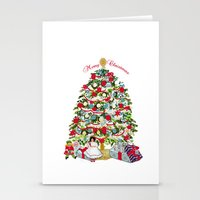 Underneath The Christmas… Stationery Cards