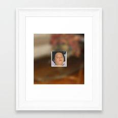 She's Fine, Ok? Framed Art Print