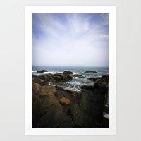 Acadia View - Ocean Scen… Art Print