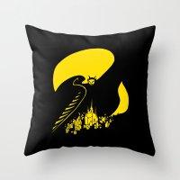 Mephisto Throw Pillow