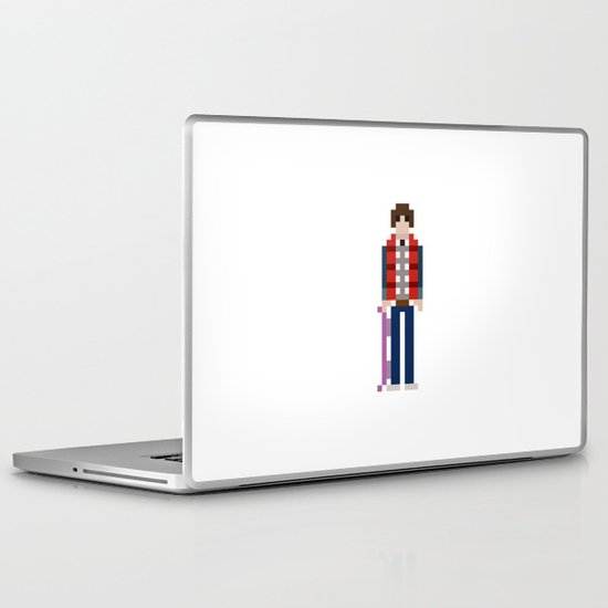 8-bit Back to The Future Laptop & iPad Skin