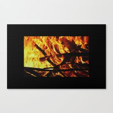 FIRE UP YOUR ENGINE Canvas Print