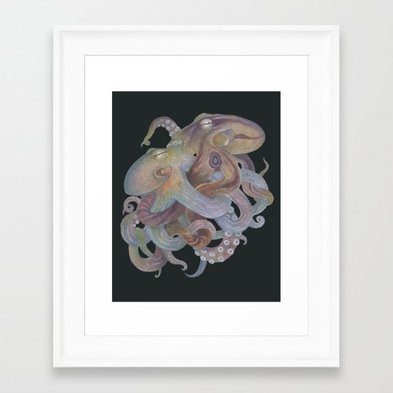 Tangled No. 4 Framed Art Print