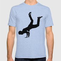 Shadow Dancer Mens Fitted Tee Tri-Blue SMALL