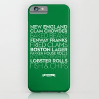 iPhone & iPod Case featuring Boston — Delicious City Prints by Roni Lagin & Co.