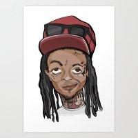 Weezy Art Print