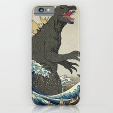 The Great Godzilla off Kanagawa iPhone 6 Slim Case