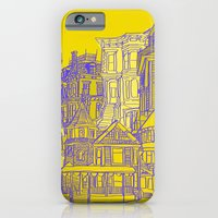 iPhone & iPod Case featuring Victorians houses by Maripili