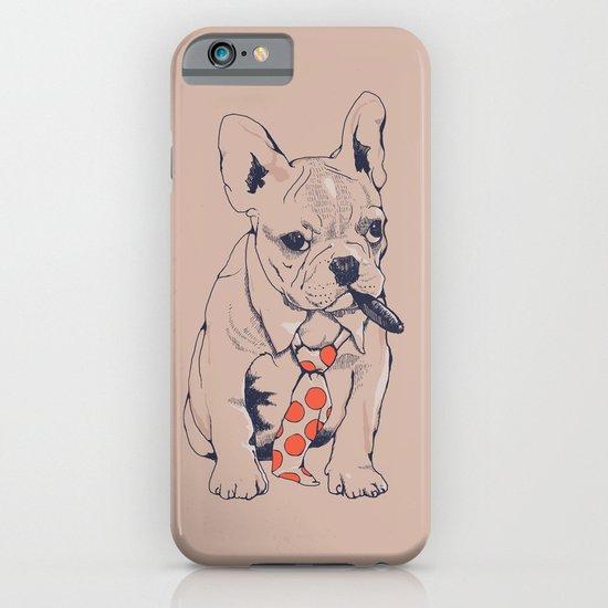 FRENCH BULLDOG BOSS iPhone & iPod Case