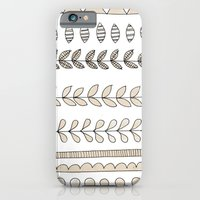 iPhone & iPod Case featuring Pastel Patterns - Natural by Hannah Stevens