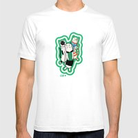 Joana's Cats Mens Fitted Tee White SMALL