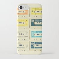 pastel iPhone & iPod Cases featuring All Tomorrow's Parties by Cassia Beck