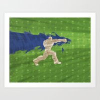 Tea Time (Homage To Dudley of Street Fighter) Art Print