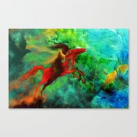 Wind-Flügel Canvas Print