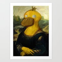 Mona ... Who? Art Print