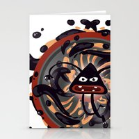 Evil Mandala Stationery Cards