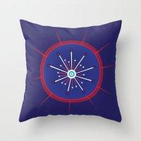 Radiolarian 5 Throw Pillow