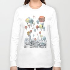 Voyages over Edinburgh Long Sleeve T-shirt
