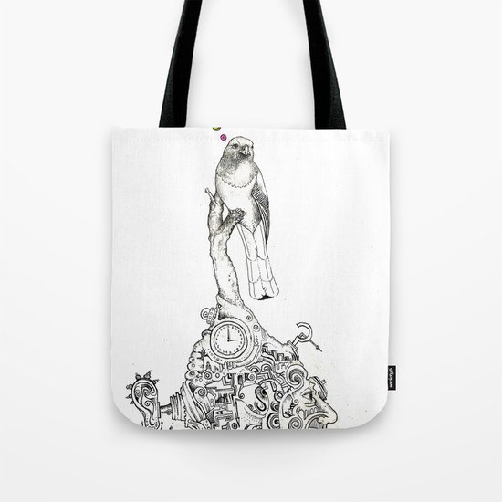 Bird Thought 1 Tote Bag