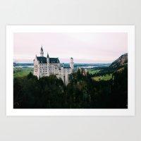 Neuschwanstein Castle Ba… Art Print