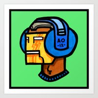 headfone Art Print