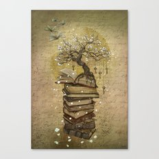 Knowledge is the key Canvas Print