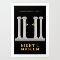 Night at the Museum Art Print