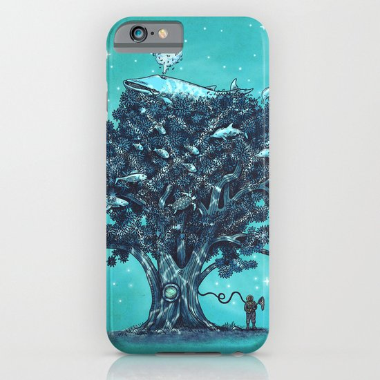 Deep Tree Diving  iPhone & iPod Case