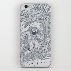 I only surf on Comets iPhone & iPod Skin