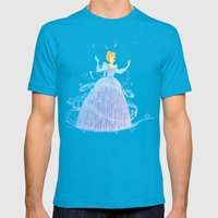 Disney's Cinderella In B… Mens Fitted Tee Teal SMALL