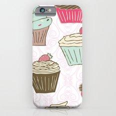 Cupcakes Curly Slim Case iPhone 6s