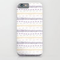 iPhone & iPod Case featuring Stitch it by the green gables