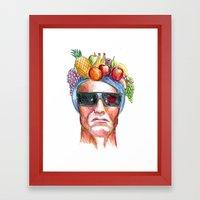Ay Ay Ay! Hasta La Vista… Framed Art Print
