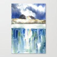 Rainbow Suilven Canvas Print