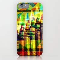 iPhone & iPod Case featuring CRAYON LOVE- Let Me Go Back to Kindergarten! by Caleb Troy