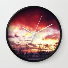 Arctic Warmpth Wall Clock
