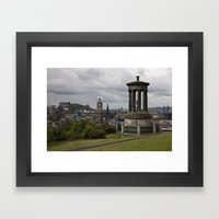 View From Calton Hill Framed Art Print