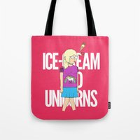 Ice-Cream and Unicorns Tote Bag