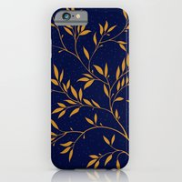 Blue branches iPhone 6 Slim Case