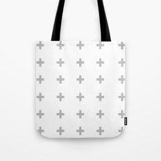 +++ (Gray) Tote Bag