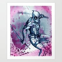 The Merc With The Mouth.… Art Print