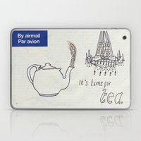 A Parisian, British Tea Laptop & iPad Skin
