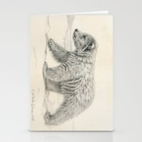 Polar Bear's Cub Stationery Cards