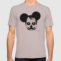 Mickey Mouse Mens Fitted Tee Cinder SMALL
