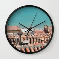 Everything's Here Wall Clock