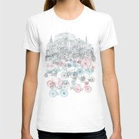 city T-shirts featuring Old Town Bikes by David Fleck