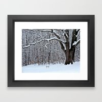 Tree Swing Framed Art Print
