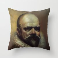 Jacob Arminius Throw Pillow
