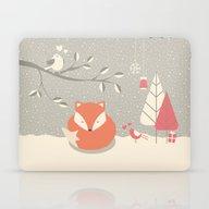 Christmas Baby Fox 06 Laptop & iPad Skin