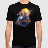Porkins! Mens Fitted Tee Black SMALL